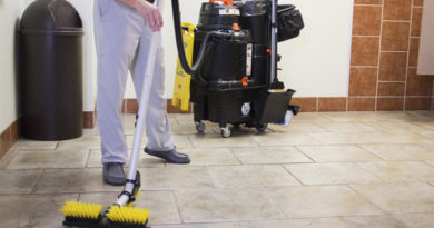 "Hospital Floors Reclassified as ""Critical"" Areas for Disinfection"