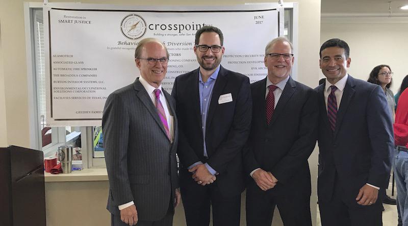 Crosspoint Celebrates Completion of Behavioral Health Diversion Unit