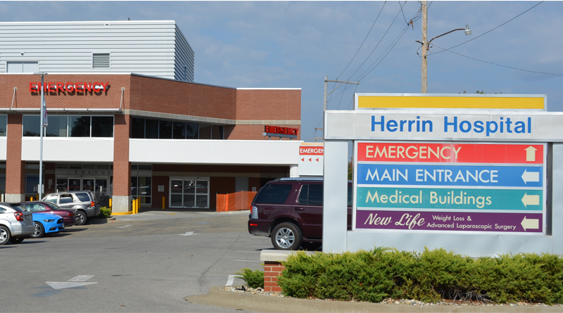 Planning & Precision Guide Vertical Expansion at Herrin Hospital