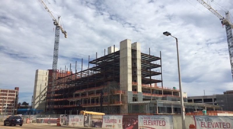 Methodist University Hospital Celebrates Topping Out of New Patient Tower