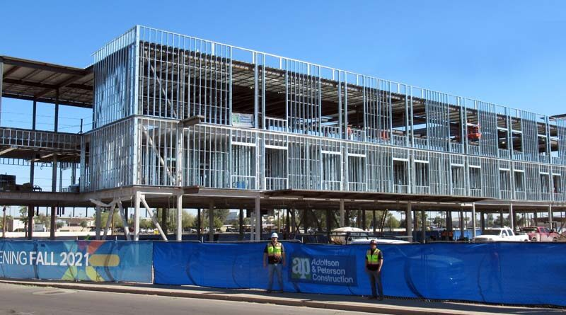 New Rehabilitation Hospital Tops Out in Phoenix