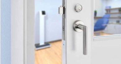 Electronic Sliding Door Lock